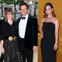 Dominic West, wife Catherine Fitzgerald, Lily James