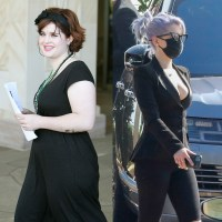 Kelly Osbourne before after weight loss split promo