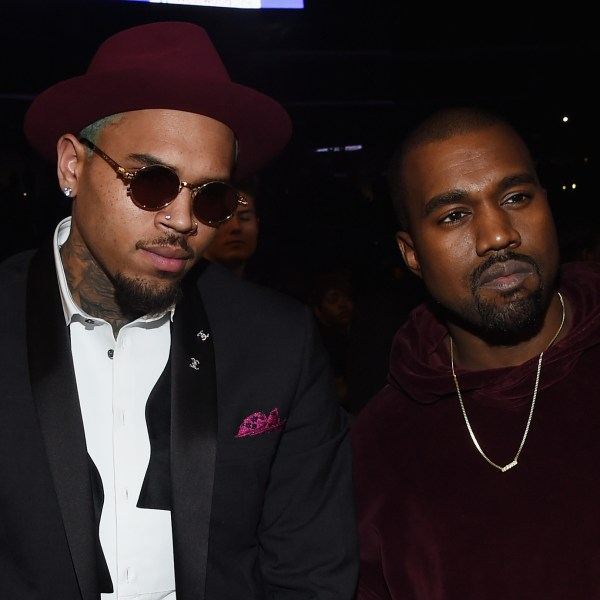 Chris Brown and Kanye West