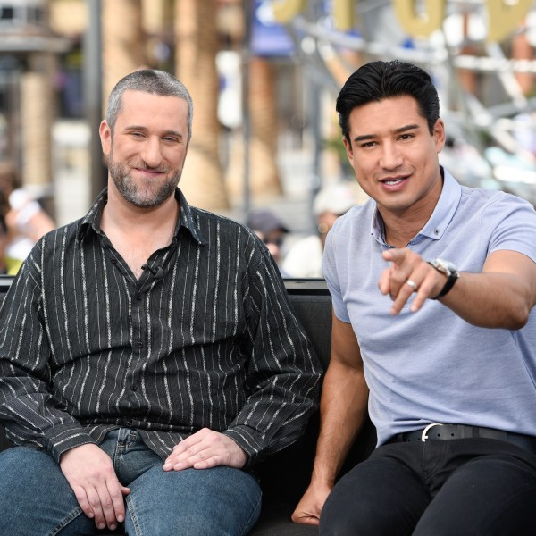 Dustin Diamond and Mario Lopez