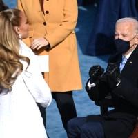Joe Biden and Jennifer Lopez