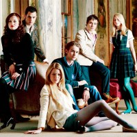 Gossip Girl cast, Penn Badgley, Ed Westwick, Taylor Momsen, Leighton Meester, Chace Crawford, Blake Lively