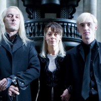 Jason Isaacs, Helen McCrory and Tom Felton