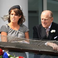 Princess Beatrice, Princess Eugenie, Prince Philip