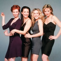 Kim Cattrall, Cynthia Nixon, Kristin Davis, Sarah Jessica Parker, Sex and the City