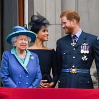 Queen Elizabeth ll, Duchess Meghan, Prince Harry, Prince William and Duchess Kate
