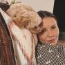 Catherine Zeta-Jones, Maltipoo dog Taylor
