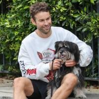 Chace Crawford dog Shiner