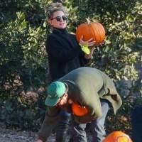 Kate Hudson, fiance Danny Fujikawa, pumpkin patch