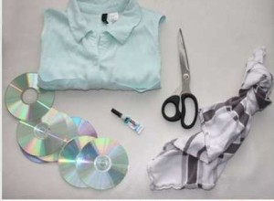 how to use CD to make a dazzling dress[2]