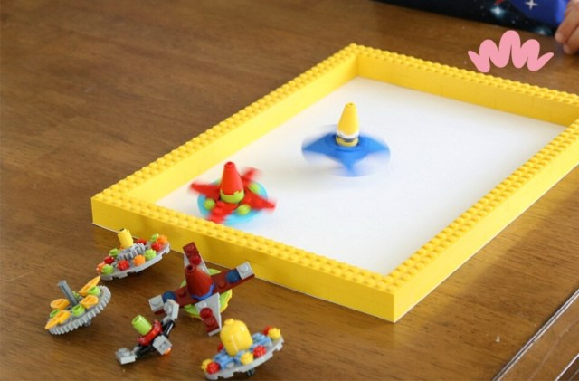 LEGO spinners!