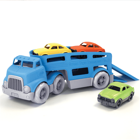 Green Toys auto transporter, autotransporter