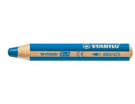 Woody- Blauw Stabilo