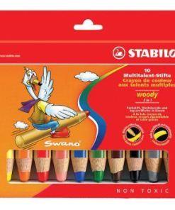 Stabilo- Woody, doos 10 stuks, wonderzolder.nl
