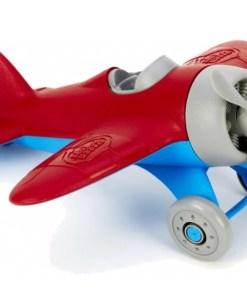 Vliegtuig Rood, Green Toys, wonderzolder.nl