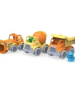 Bouwvoertuigen, bouw voertuigen van Green Toys