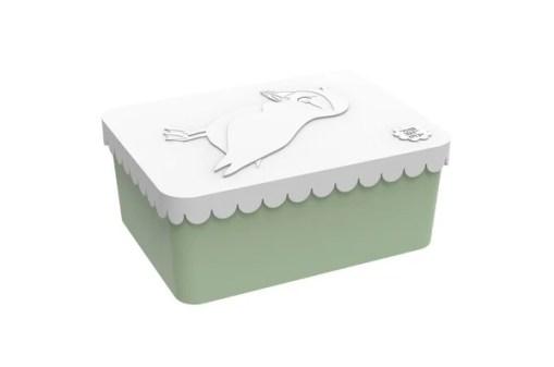 Lunchbox klein Puffin Lichtgroen