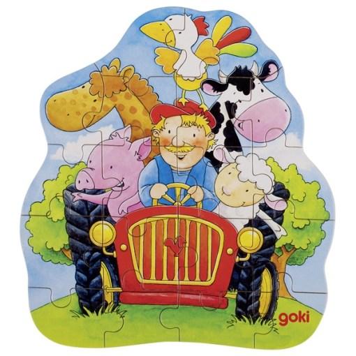Mini puzzel boerderij Goki, wonderzolder.nl