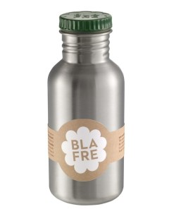 Steel bottle 500 ml Dark Green, Blafre, RVS Fles, wonderzolder.nl