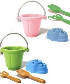 Strandset Green Toys, zandbak speelgoed, gerecycled, wonderzolder.nl