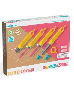 Discover set, makedo, toonbox, recycle, wonderzolder.nl