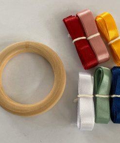 Handvlieger DIY pastel