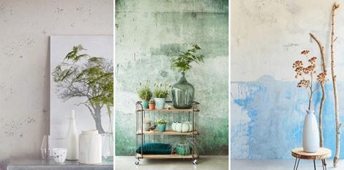 Wand en behangtrends  Behang  wandbekleding  Interieur