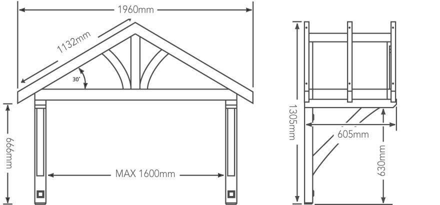 Porch Canopy Kit. Clickawning Aluminum Awning Kit Entrance