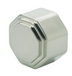 richard burbidge rhr05bn handrail end cap octagonal brushed nickel 54mm brushed nickel fittings wall brackets and end caps staircase parts [ 1000 x 943 Pixel ]