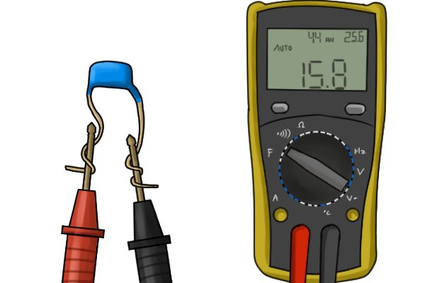 How to test capacitance with a multimeter