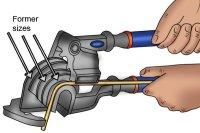 Mini pipe bender