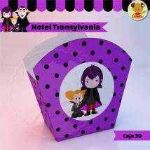 Hotel Transylvania Drcula - Caja 3d Golosinas Maceta