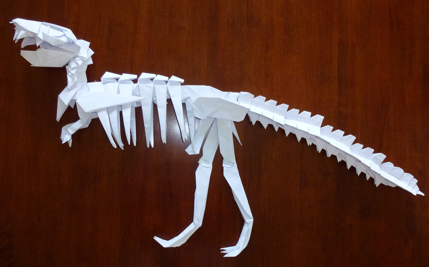 origami dinosaur skeleton - DriverLayer Search Engine - photo#8