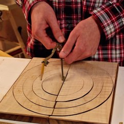 Circle Table And Chair Set Baby For How To Turn A Bandsaw Bowl From Board | The Wood Database