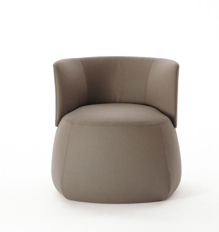 posture leather chair colorful side chairs fat sofa by patricia urquiola - b & italia @ wood-furniture.biz