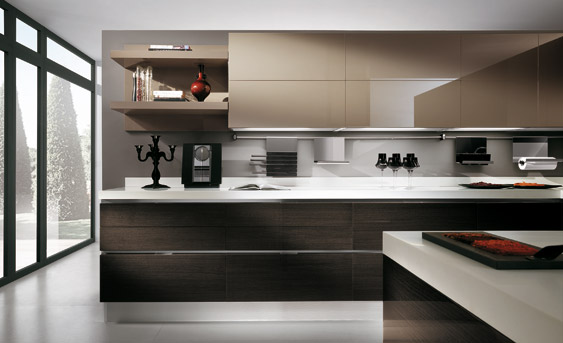 Wood  Furniturebiz  Products  Scavolini  Scenery Kitchen