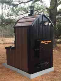 Outdoor Wood Furnace - Forced Air - Hypro Therm ThermoWind