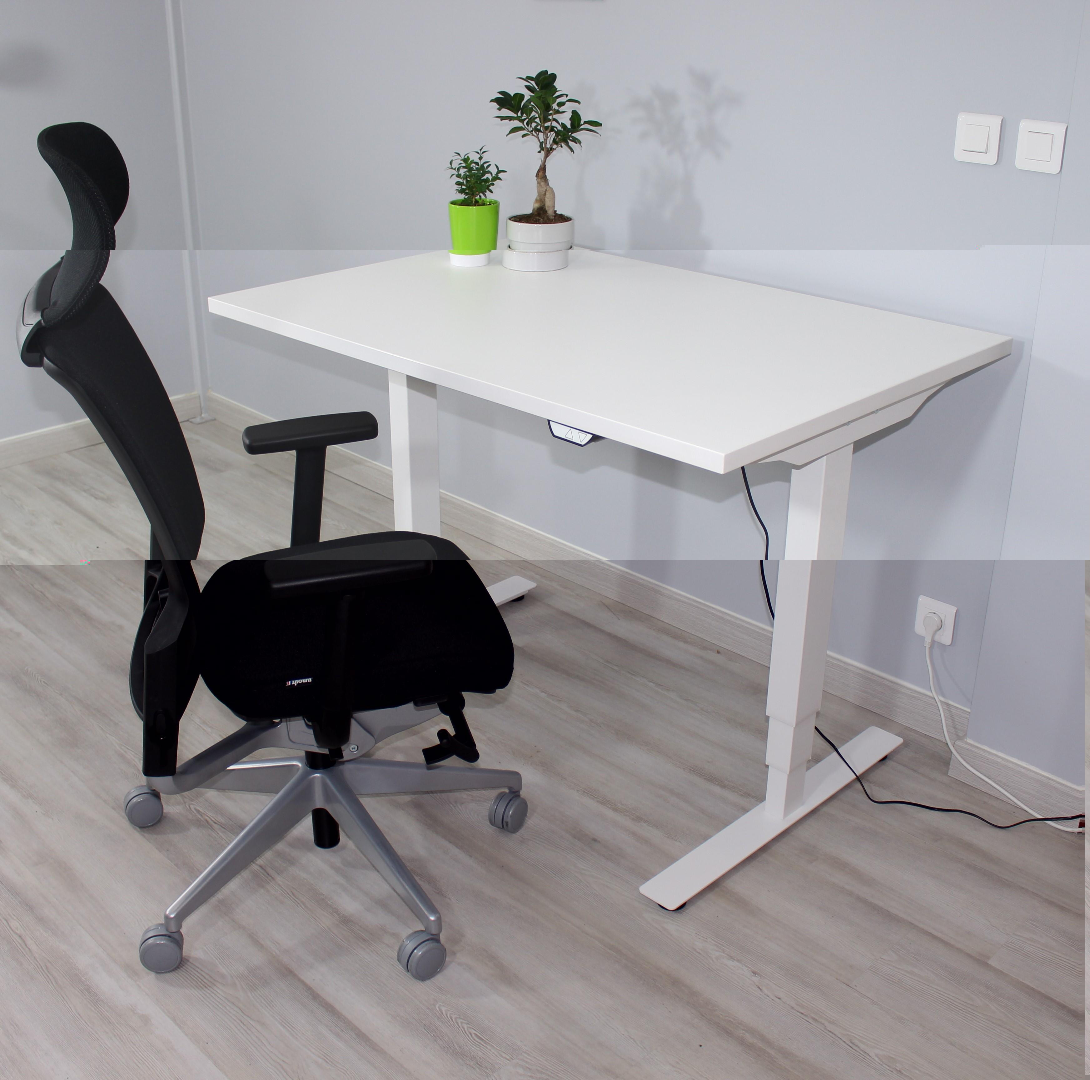bureau assis debout position assise