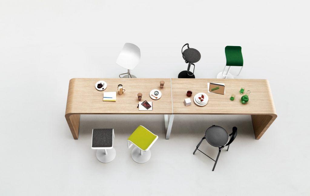 Table De Runion Pont Design Arrondie