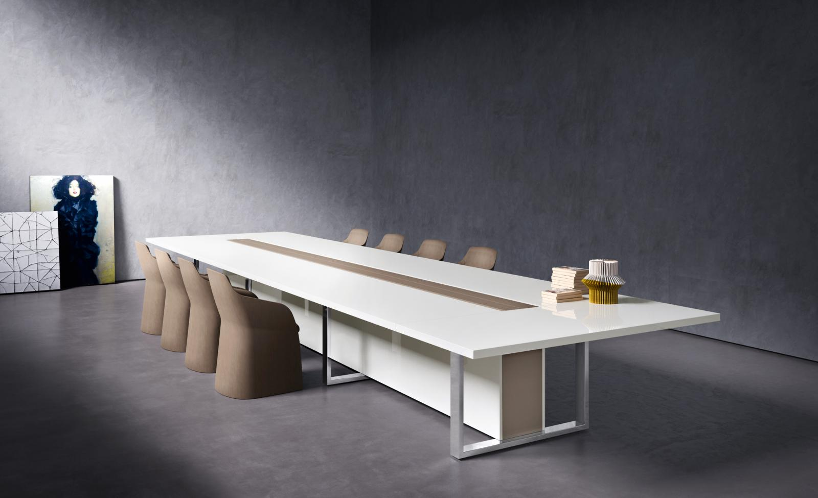 Table De Runion Pont Design Arrondie