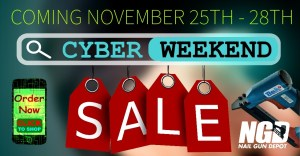 NailGunDepot.com BF and Cyber deals.