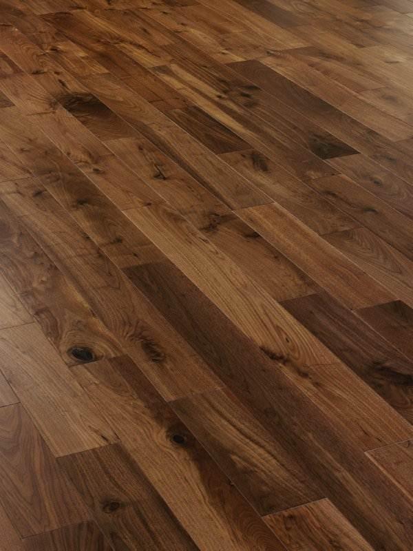 Black American Walnut engineered Flooring 127mm  Wood4Floors