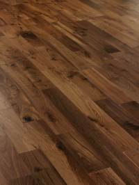 Black American Walnut engineered Flooring 127mm - Wood4Floors