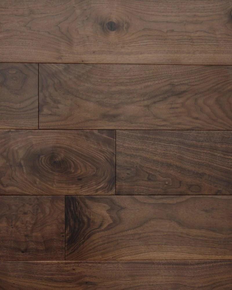 Black American Walnut Super Engineered Wood Flooring 191mm
