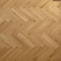 Engineered oak Herringbone wood blocks - London stock ...