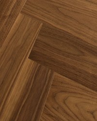 Black American Walnut Engineered Blocks  Herringbone or ...