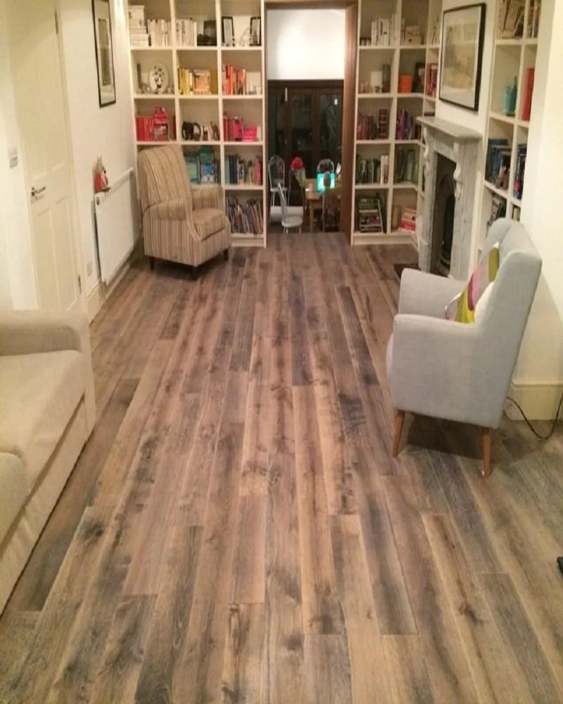 Irongray Engineered Oak Real wooden Floor London Stock