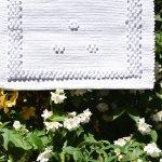 Handmade White Rug