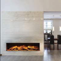 EVONIC Electric Fireplace Horizontal 156