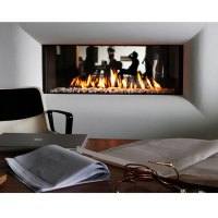 LINEAFIRE Fireplaces Horizontal 150 Tunnel